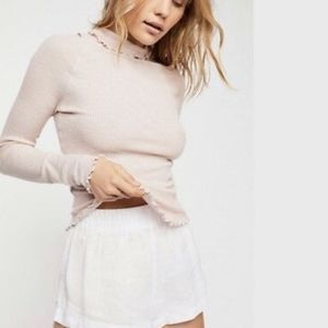 Free People Make It Easy Thermal Turtleneck
